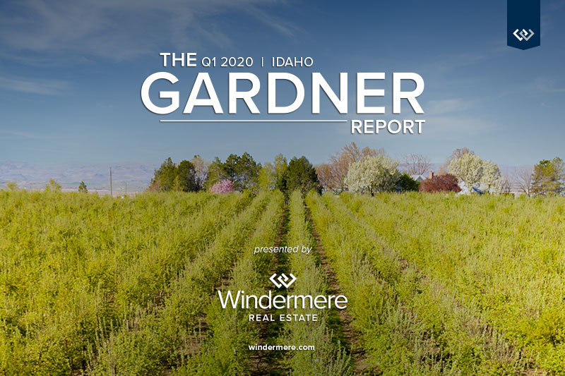 Matthew Gardner Real Estate Report Idaho Windermere 2020 1st quarter