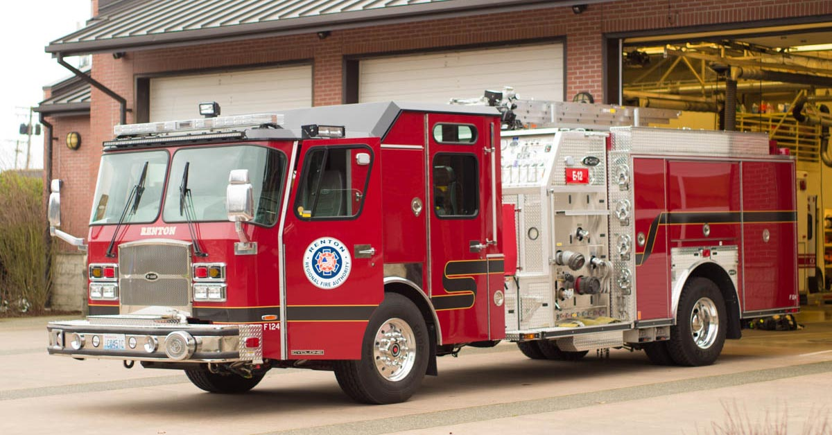 New Engines Improve Fire and Rescue Operations