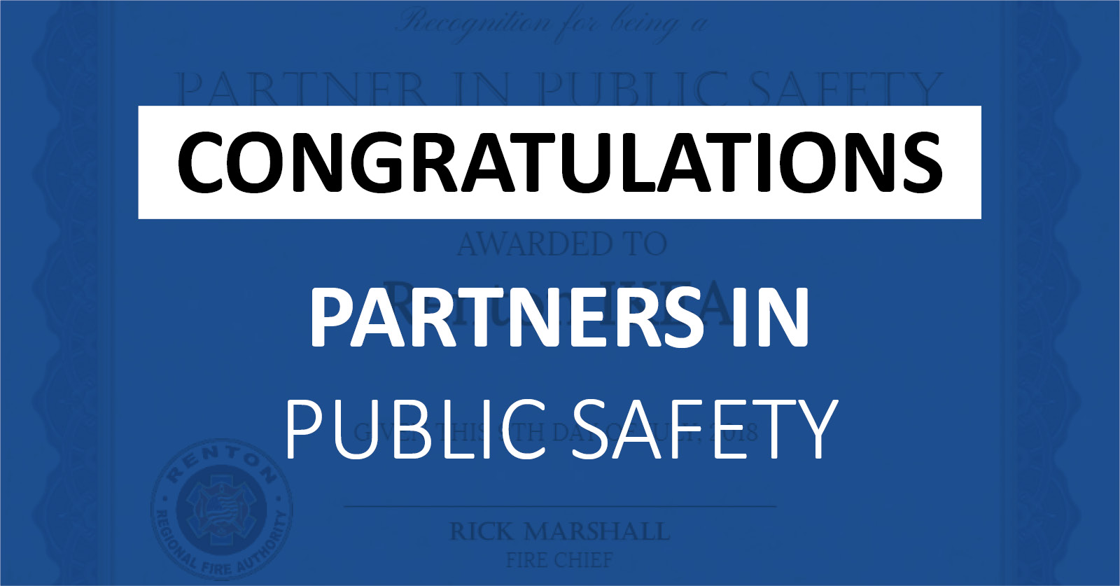 Partners in Public Safety