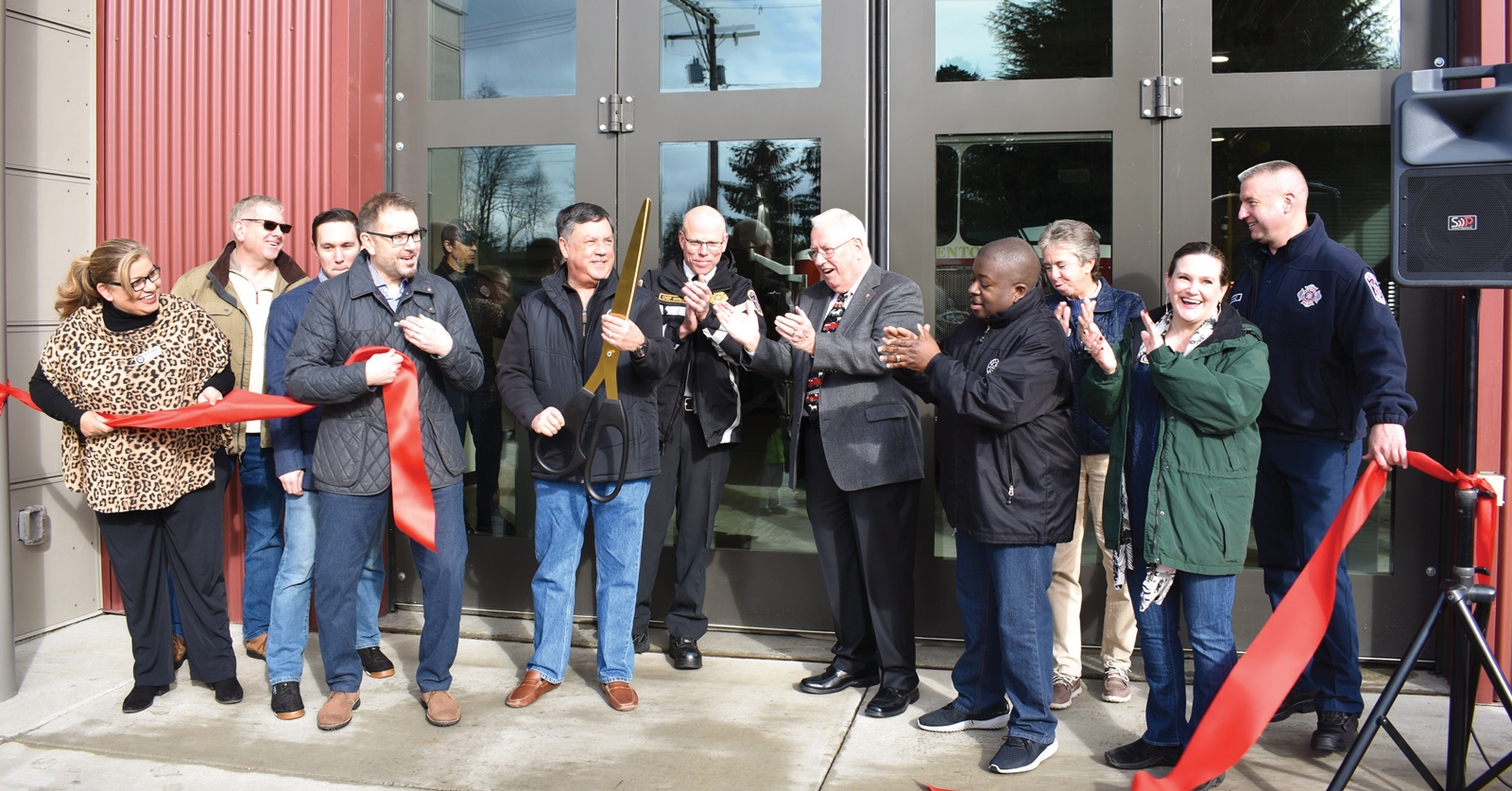Fire Station 15 Ribbon Cutting Ceremony