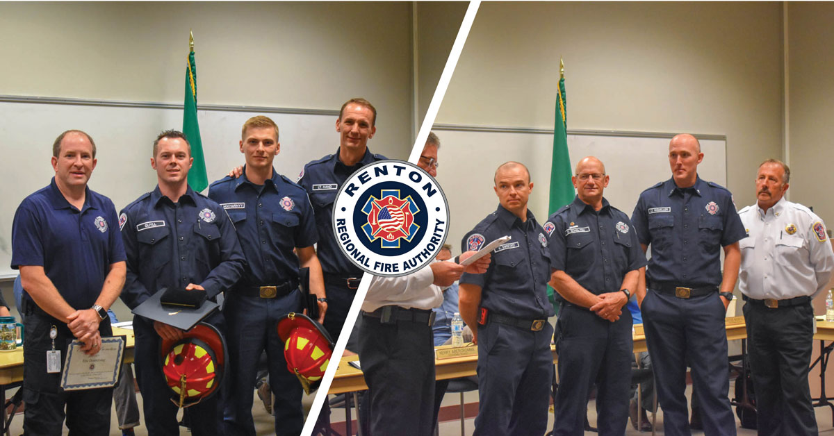Celebrating Promotions and a Medal of Valor