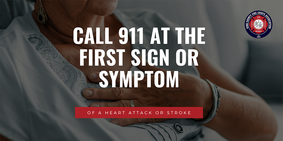 KCFDs Urge People to Call 911 For Symptoms of Heart Attack/Stroke