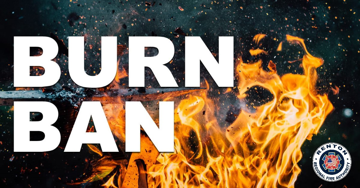 Phase 1 Burn Ban Effective Today, July 27, 2020