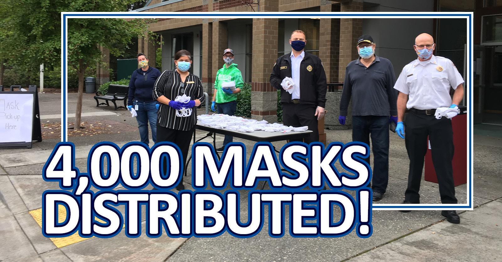 Renton RFA Helps City of Renton Distribute 20,000 Masks