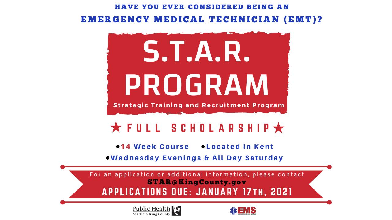 FULL EMT Scholarship Opportunity – Apply Today