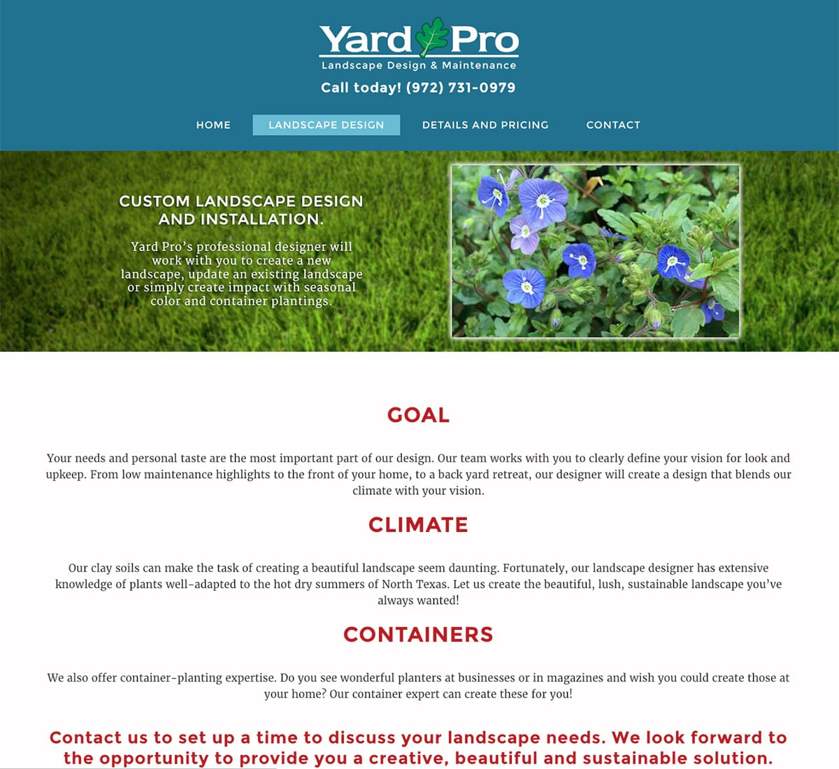 The Yard Pro Landscape Design Mk42 Creative,Architectural Design Plans
