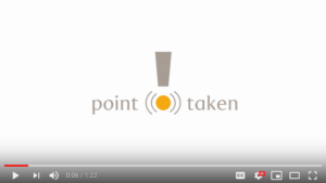Point Taken video link