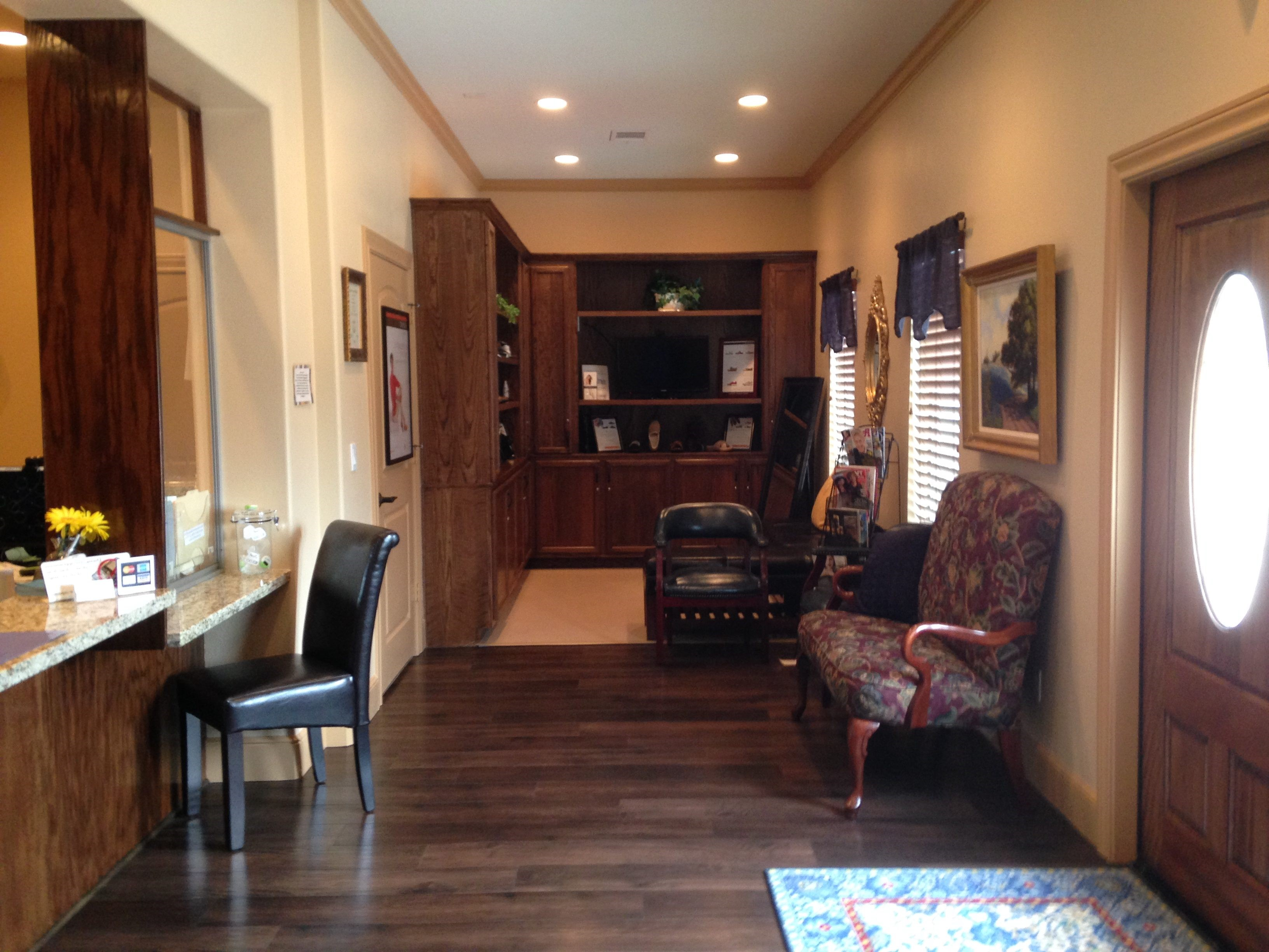 Katy foot podiatrist office interior