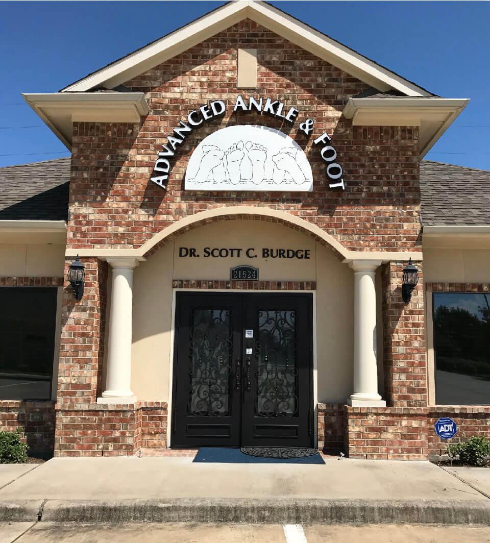 Podiatrists Office Katy Texas