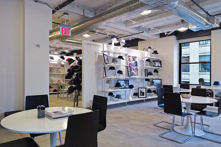 August Accessories Showroomnew York Ny Boddewyn Gaynor Architects
