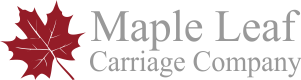 Horse and Carriage Wedding Hire Sussex | Maple Leaf Carriages Logo