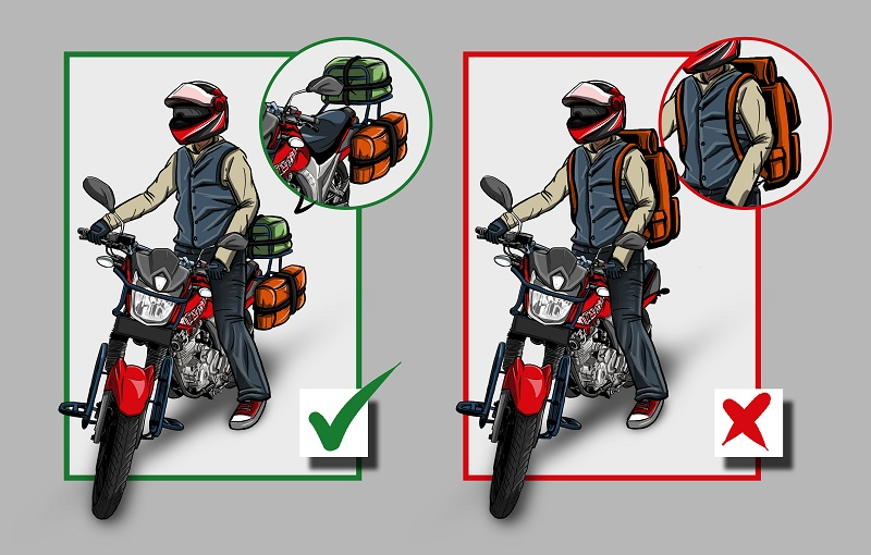 moto indo recommended motorcycle luggage options