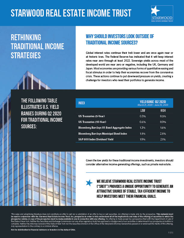 Rethinking Traditional Income Strategies
