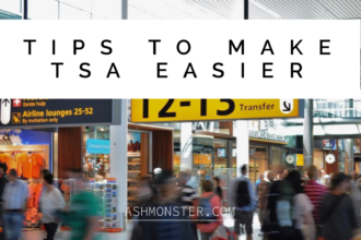 TIPS TO MAKE TSA EASIER BY ASHMONSTER.COM