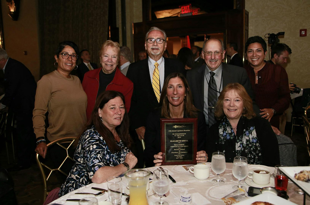 Elizabeth Krull is Recognized as one of the NCCC's Business People of the Year