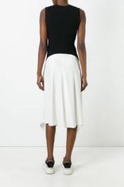 DKNY Black and white dress