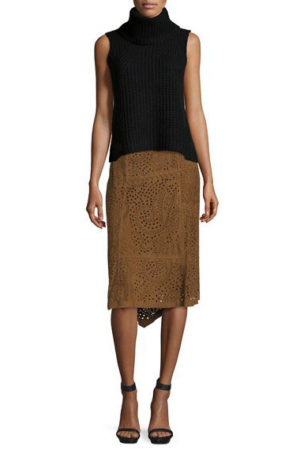skirt suede by Kobi Halperin