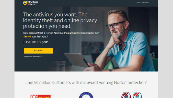 ONLINE PRIVACY PROTECTION -Protect Your Computer and Mobile Devices from cyber attacks with Award Winning Norton