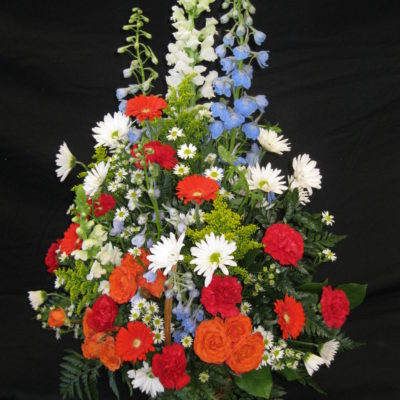 Salutation Garden Basket