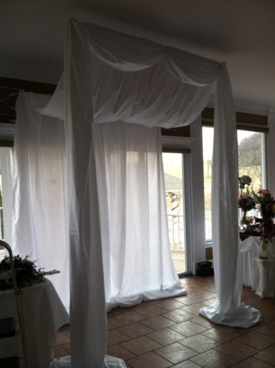 Awning Canopy- Swag Front