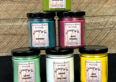 Blossom & Basket Boutique  Soy Candles