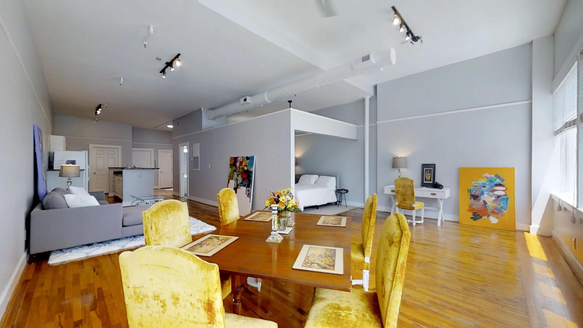 Palmetto Lofts Studio Apartment