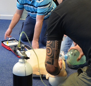 AED Defibrillator Training