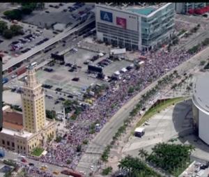 Heat parade through downtown!