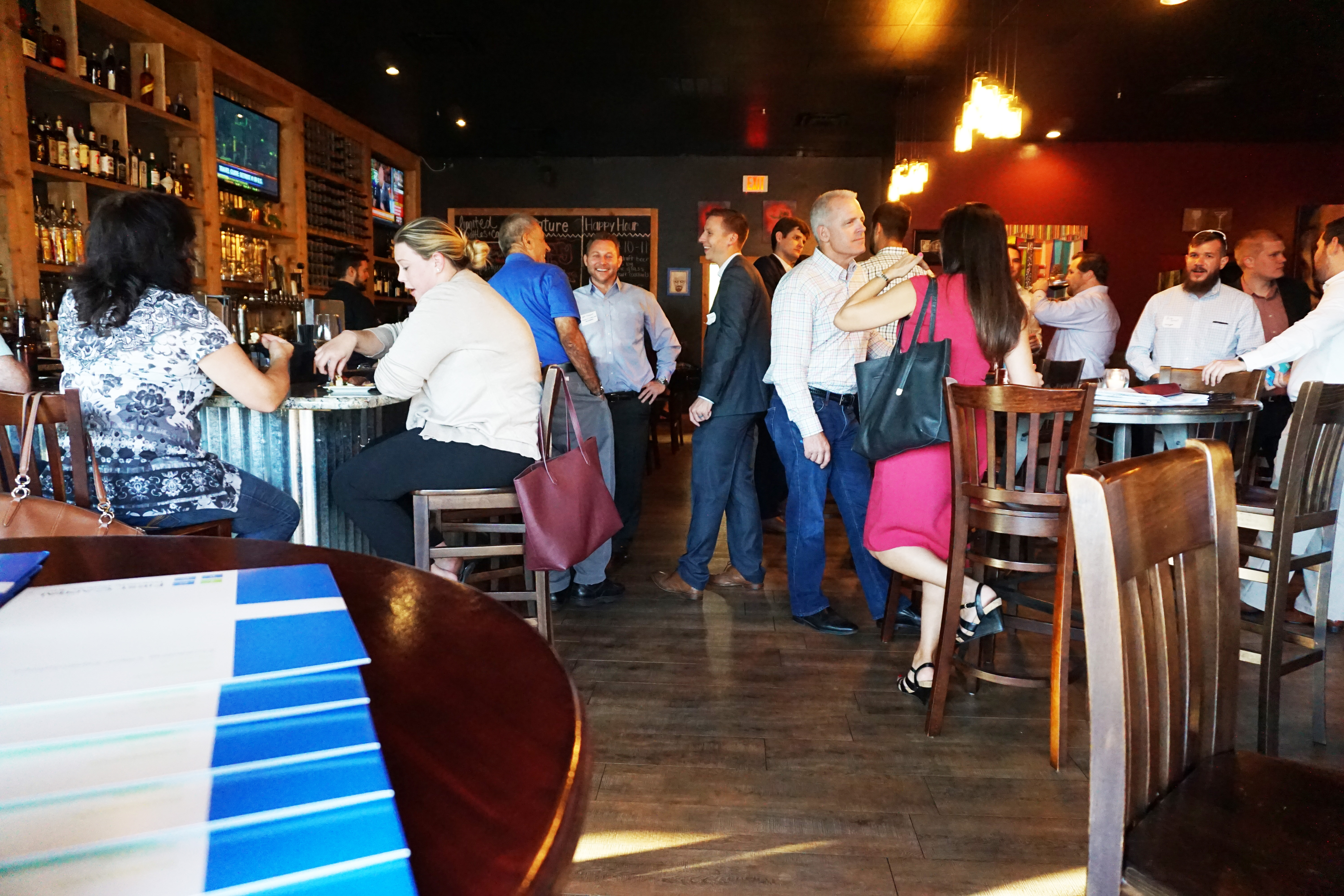 Image of the broker event that FCPG hosted to launch the Darren Medical Center.