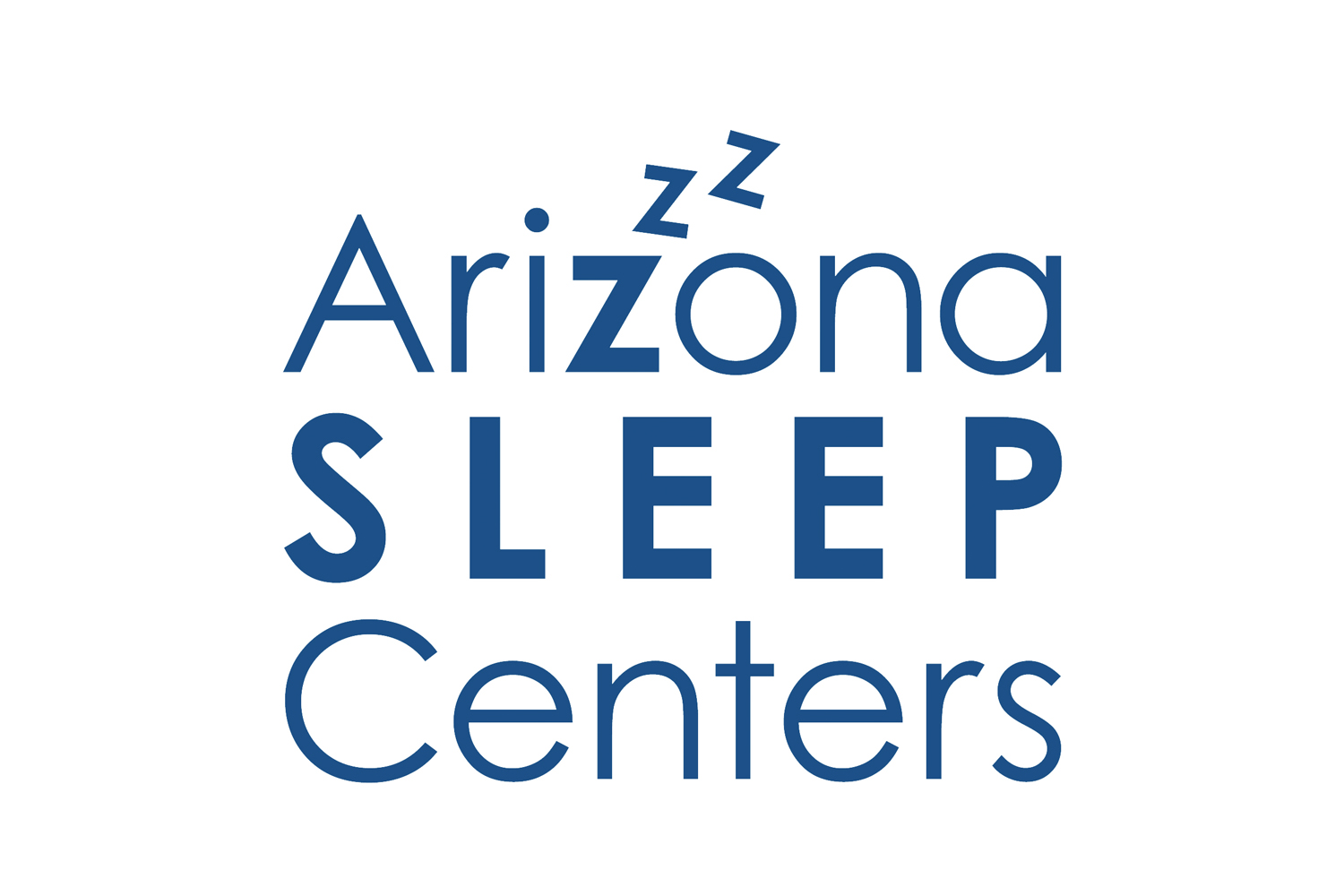 Logo design sample, sleep center business