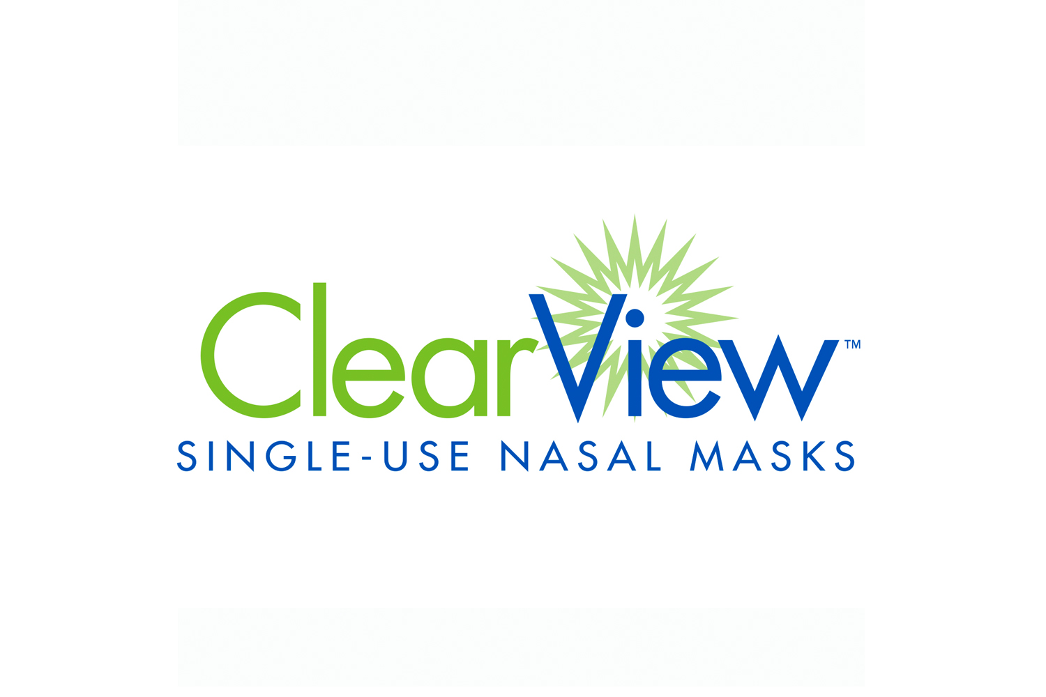 Logo design sample for ClearView Dental Masks