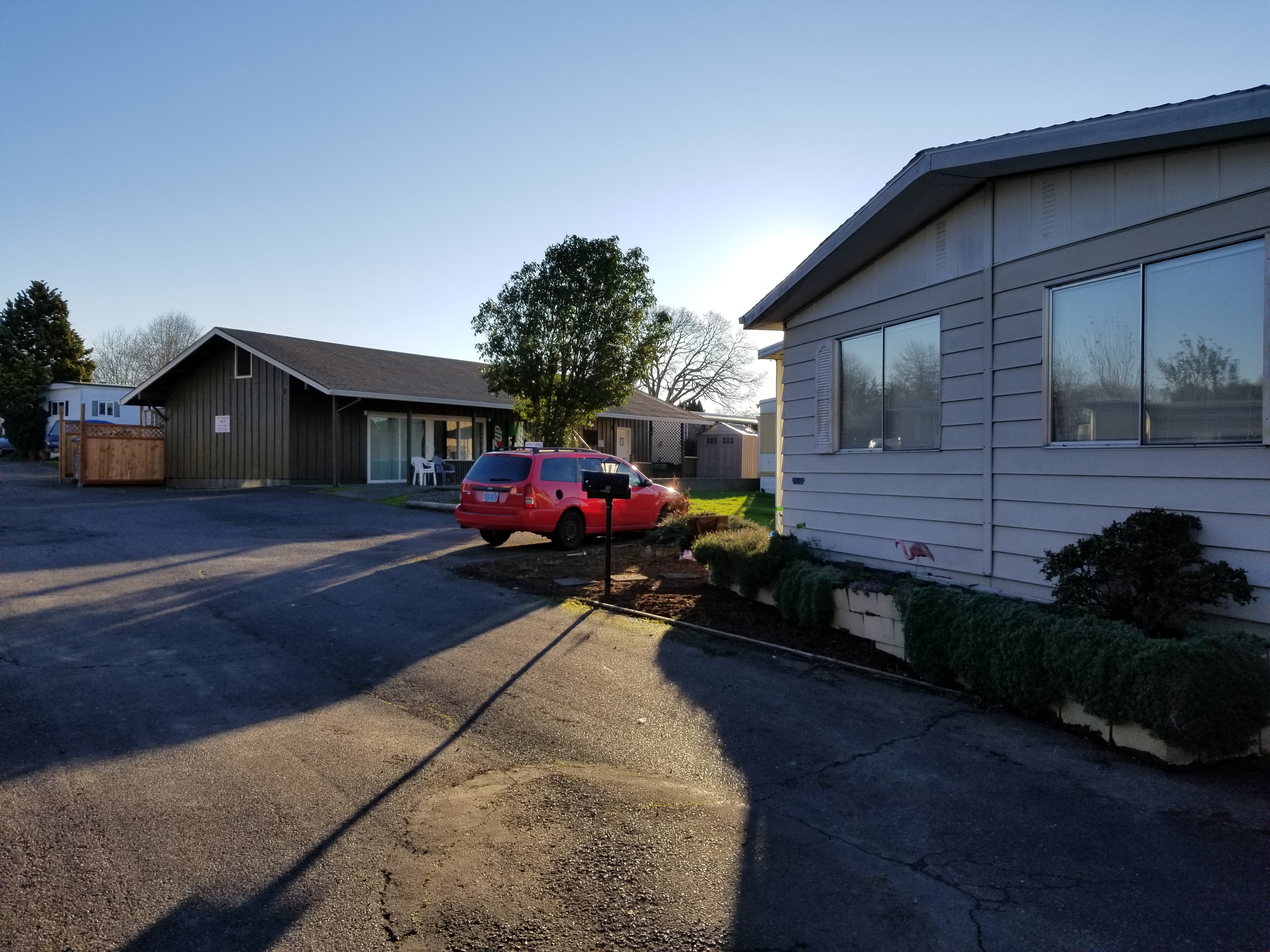 Double Wide Unit at Mobile Home Corral
