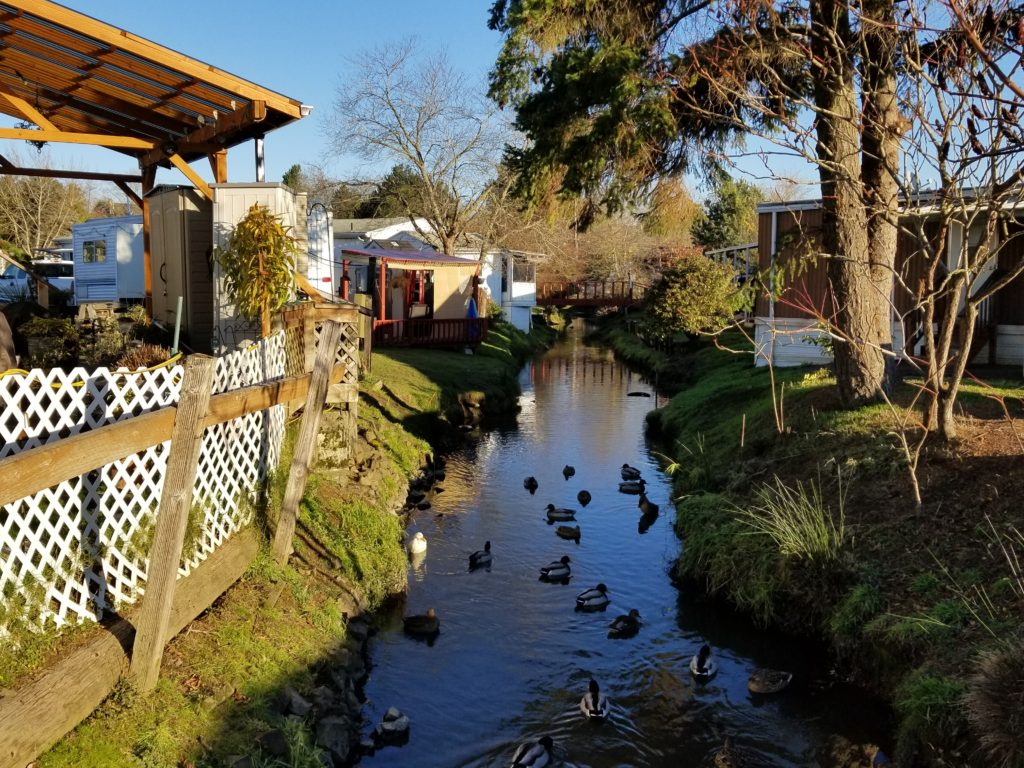 Mobile Home Corral Creek, Beaverton OR