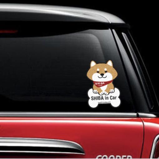 Car Sticker - Bone Red