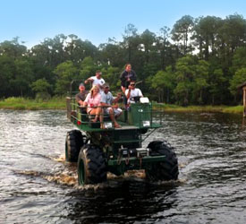 swamp buggy Florida