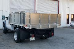 Aluminum Dump Truck Bed With Hydraulic Lift Built