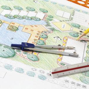 landscape architect design hotel resort plan