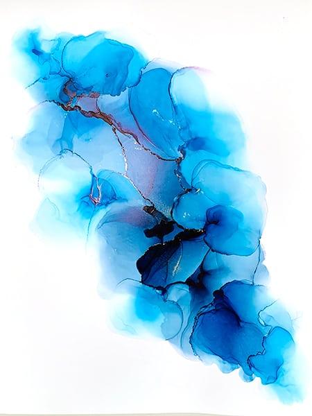 Jana Gamble | Alcohol Ink Artist | Alcohol Ink Art | Mixed Media Art | Acrylic Art | Original Art for Sale | Charlottesville Virginia | Wing