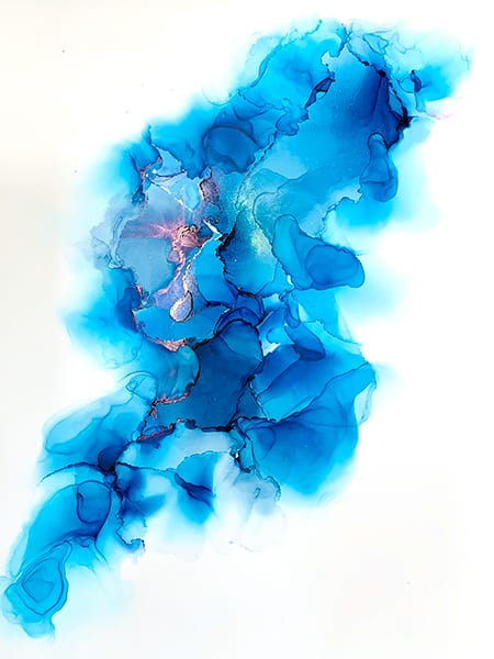 Jana Gamble | Alcohol Ink Artist | Alcohol Ink Art | Mixed Media Art | Acrylic Art | Original Art for Sale | Charlottesville Virginia | Wing 2