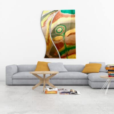 Jana Gamble | Intuitive Original Art Charlottesville | Daisy