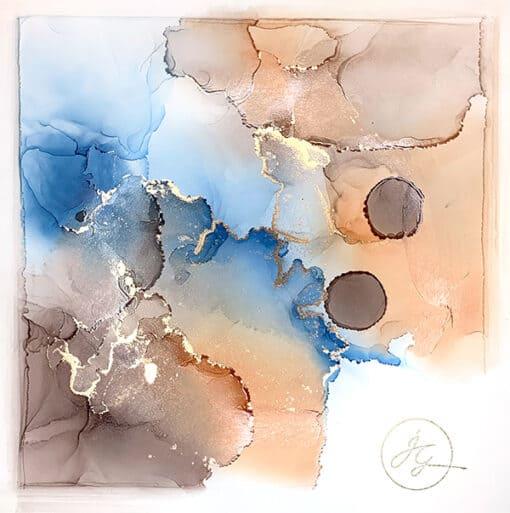 Jana Gamble | Intuitive Art Charlottesville Brahmacharya Closeup Image