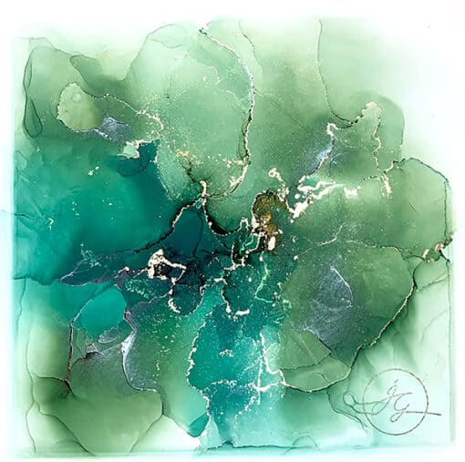 Jana Gamble | Intuitive Art Charlottesville | Japa Closeup Image