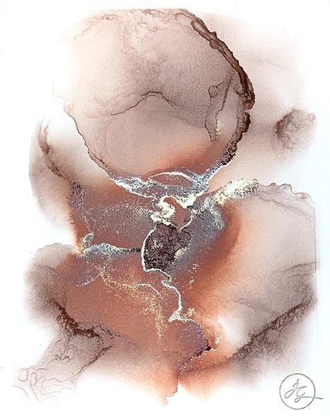 Jana Gamble | Alcohol Ink Artist | Alcohol Ink Art | Mixed Media Art | Acrylic Art | Original Art for Sale | Charlottesville Virginia | Sempiternal