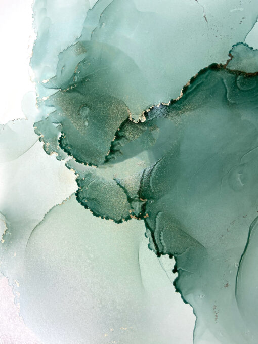 Jana Gamble | Original Art for Sale | Mistletoe Closeup