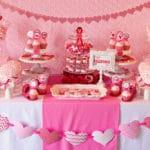 Lindas mesas decorativas para eventos infantiles