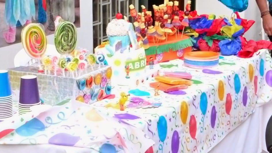Decoración para Fiestas Infantiles Sencillas