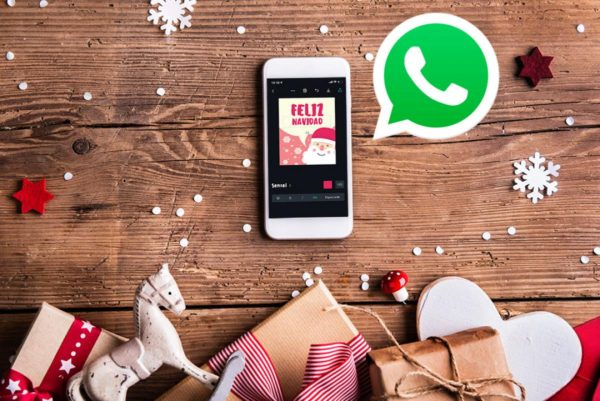 Saludos navideños para los estados de whatsapp