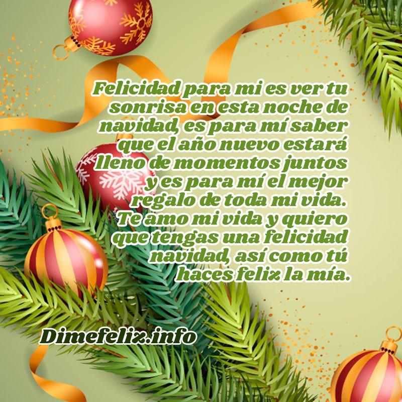 Frases de Navidad para mi Enamorado