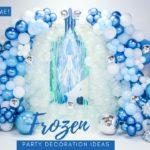 Las mejores inspiraciones para un cumpleaños de frozen