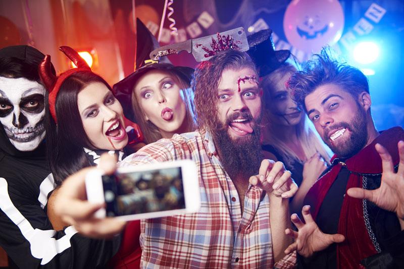 halloween-selfie